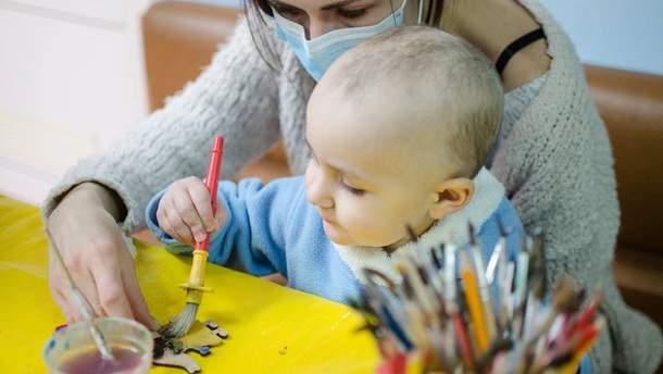 Майстер-клас у дитячому відділенні Національного інституту раку