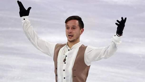 Алексей Быченко на Олимпиаде-2018