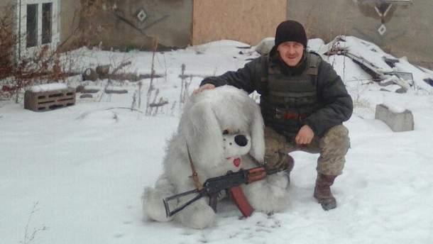 Розстріляний морський піхотинець Валерій Литвиненко