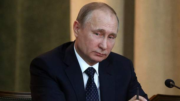Хворий Путін з'явився на людях