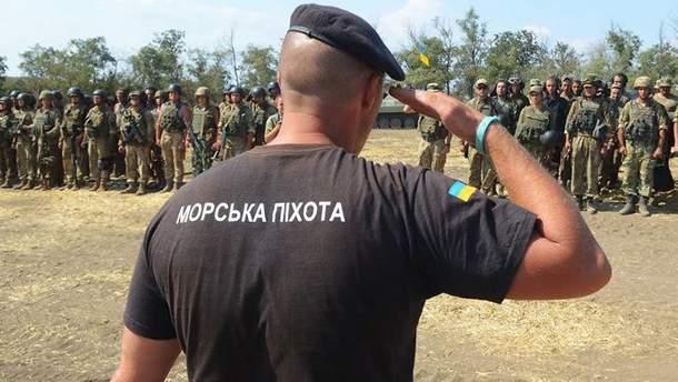 Убийство морпехов под Широкино: обнародованы фото