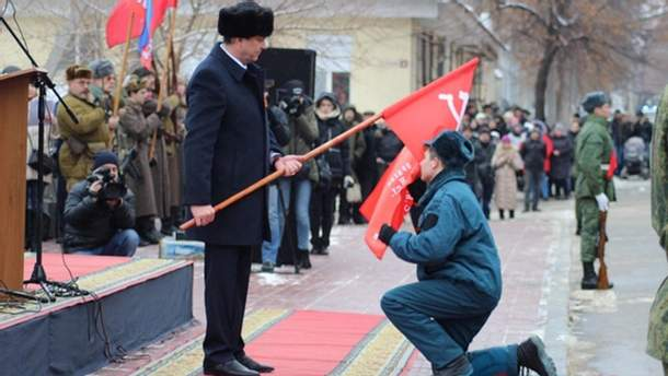 """Святкування терористів у """"ЛНР"""""""