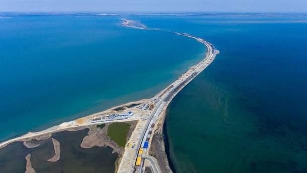 """Окупанти так званий """"Кримський міст"""" усе ж добудують?"""