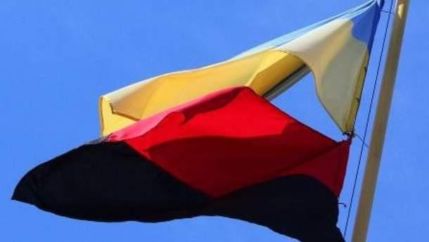В Киеве на праздники хотят поднимать революционный флаг ОУН