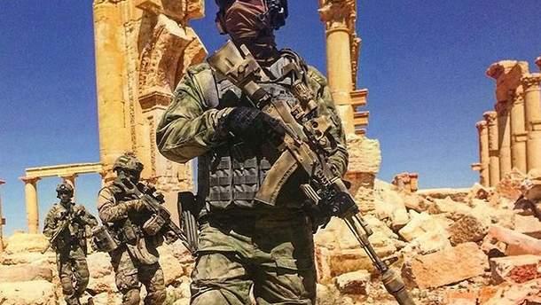 Бойцы ССО Минобороны России в Сирии