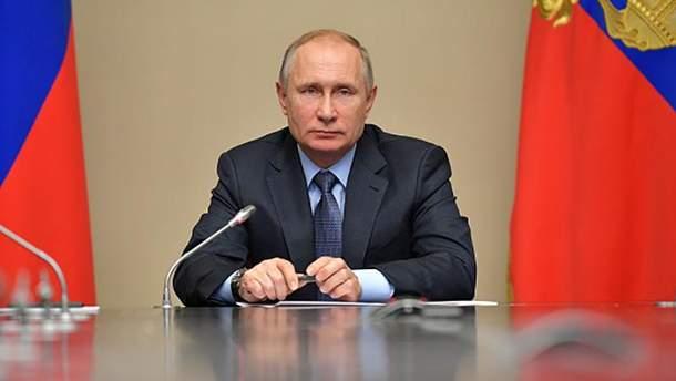 Хворий Володимир Путін