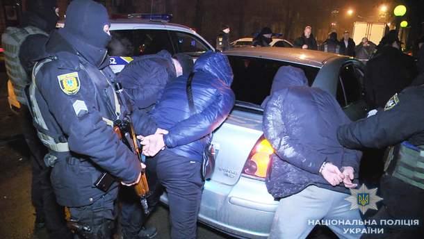 Затримання росіян в Одесі