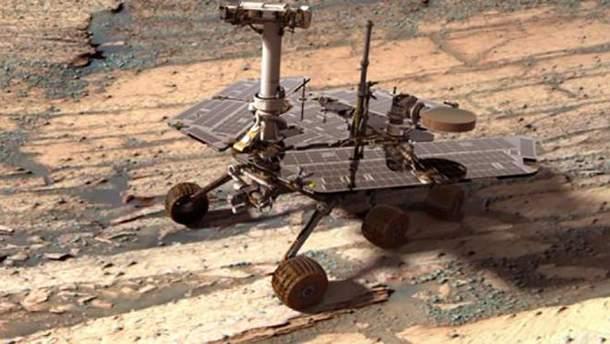 Марсохід Opportunity зустрів вже свій п'ятитисячний світанок