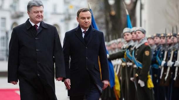Дуда прокомментировал переговоры Украины и Польши