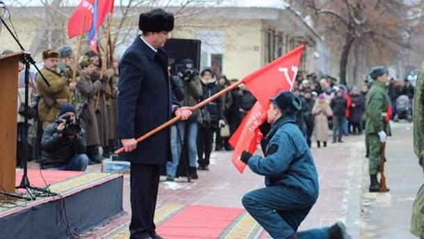 """Как в """"ЛНР"""" отмечали годовщину освобождения города"""