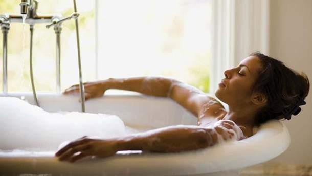 Почему нельзя долго принимать горячую ванну
