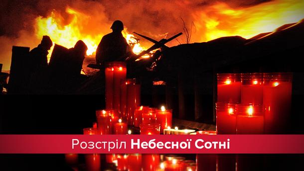 20 лютого – роковини розстрілу Небесної Сотні