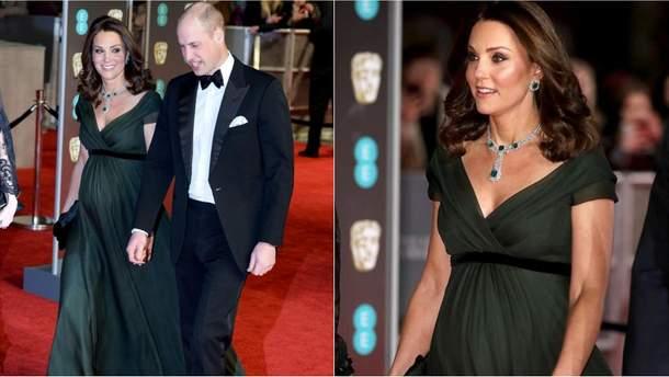 Кейт Міддлтон і принц Вільям на BAFTA Awards 2018