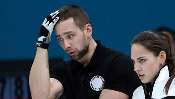 Александр Крушельницкий вместе со своей женой Анастасией Бризгаловой