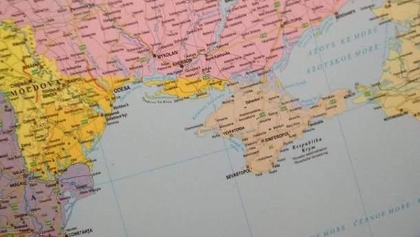 У Будапешті з продажу вилучено географічні карти з некоректним позначенням Криму