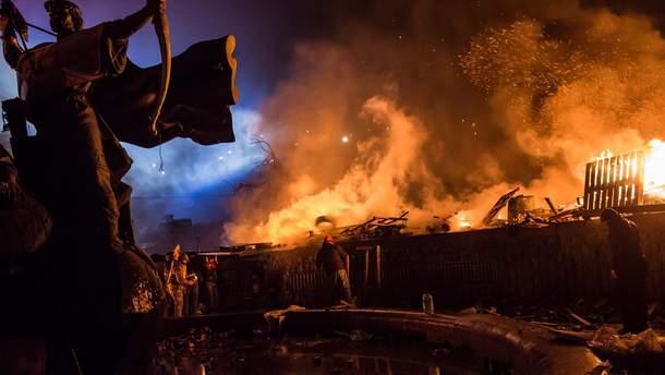 Майдан Незалежності, 18 лютого 2014 року