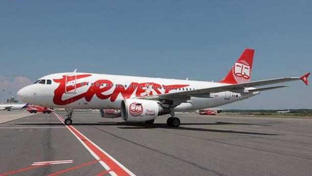 Літак компанії Ernest Airlines