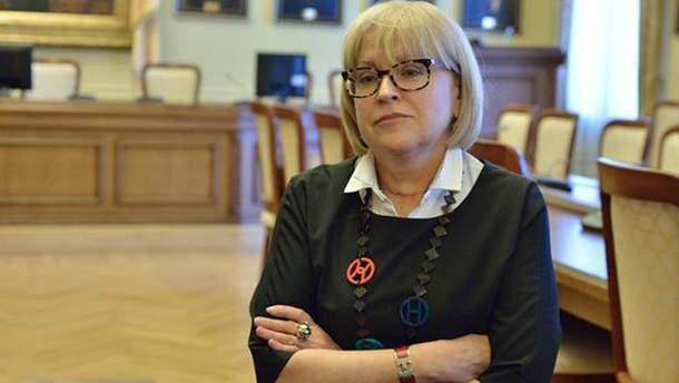 Екатерина Амосова прокомментировала свое отстранение от исполнения обязанностей