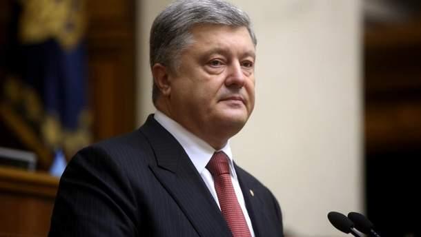 Порошенко заявил, что целью России является вся территория Украины