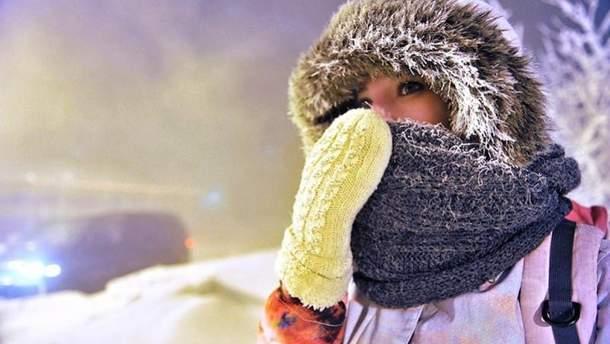 На Україну насуваються морози