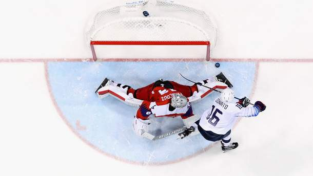 Хоккей на Олимпиаде-2018: результаты четвертьфиналов