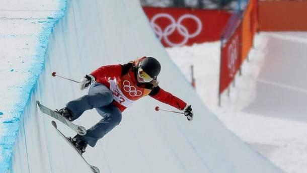 """""""Худший олимпиец"""": лыжница по дисциплине """"зрелищных трюков"""" прокатилась без трюков"""