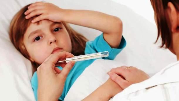 Епідемпоріг щодо грипу в Україні перевищено у 5 областях