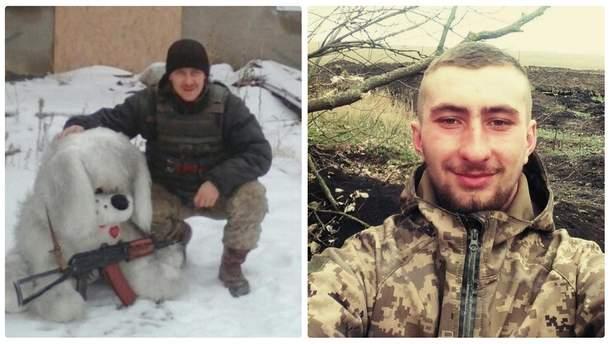 Погибшие под Широкино морпехи Валерий Литвиненко и Артем Жовтобрюх