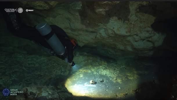 Найдовша підводна печера Юкатану