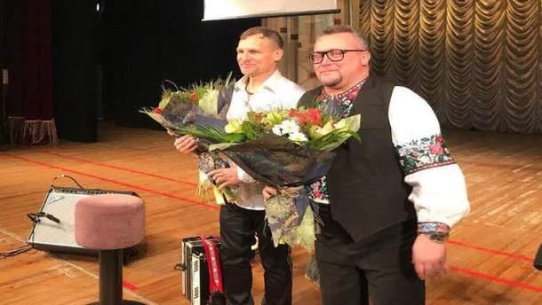 Олег Скрипка дал благотворительный концерт
