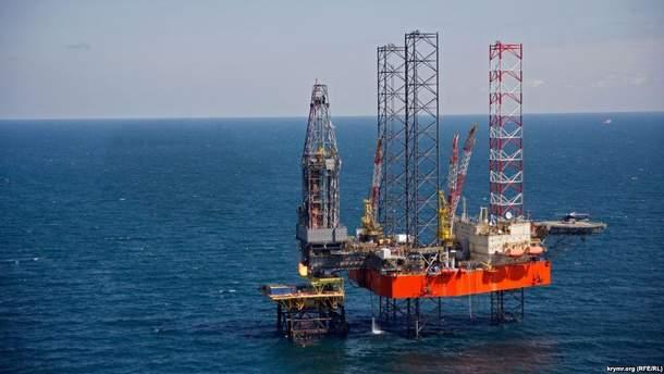 Росія незаконно видобуває газ на українських родовищах
