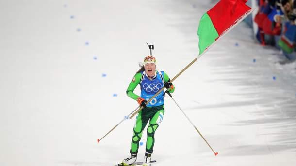 Биатлон на Олимпиаде-2018: победу в женской эстафете выборола Беларусь