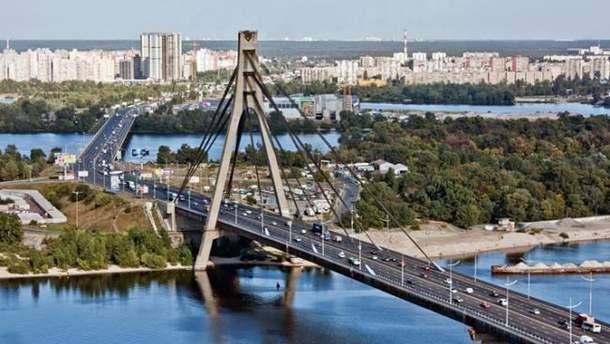 Московский мост в Киеве переименовали