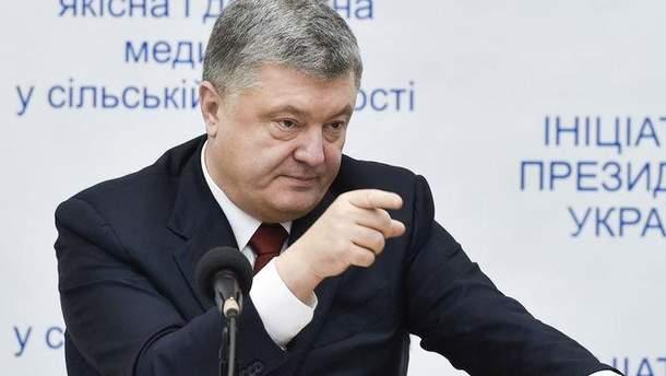 Петро Порошенко вибачився за дії правоохоронців щодо жінок в Оболонському суді