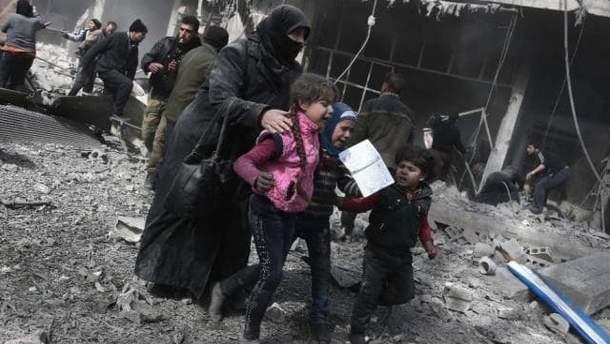 Западу время вмешаться в ужас, творящийся в Сирии