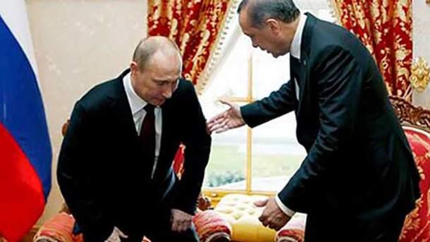 Больной Путин снова вышел в люди