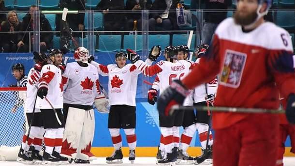 "Хоккей на Олимпиаде-2018: Канада выиграла ""бронзу"""