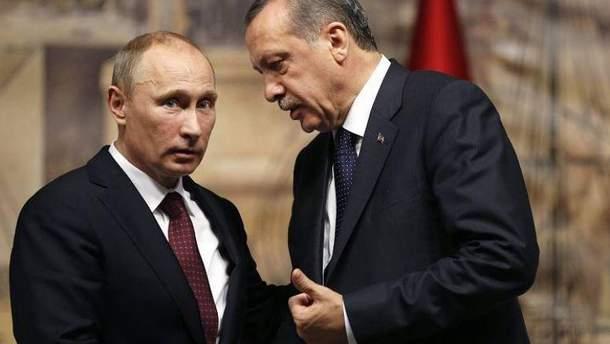 Загострення в Сирії вказує на таємну змову між Путіним та Ердоганом