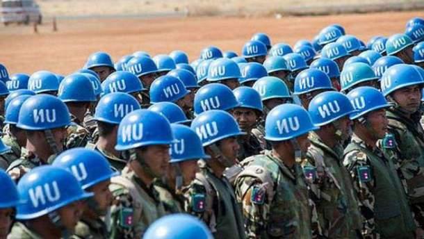 Луценко назвала возможное количество миротворцев ООН на Донбассе