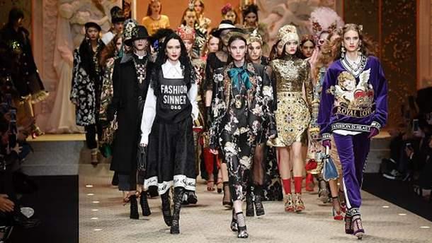 Dolce & Gabbana Show – Milan Fashion Week 2018