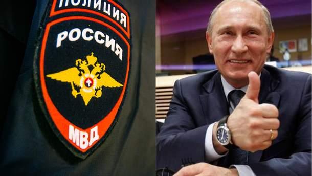 """В Росії на парканах з'являються написи """"Путін"""""""
