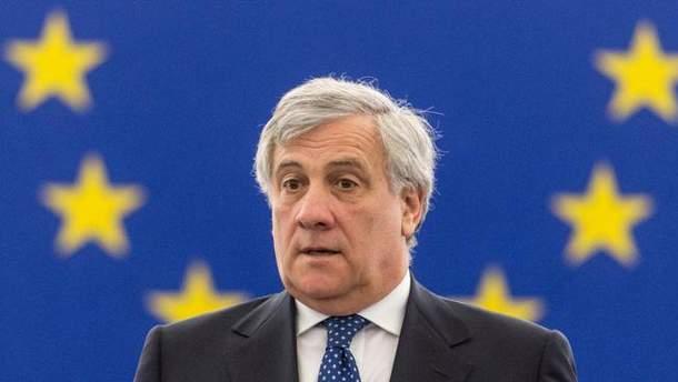 Антоніо Таяні закликав до зближення ЄС та Росії