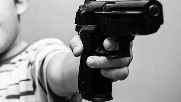Дитина вистрелила собі в ногу на Донеччині