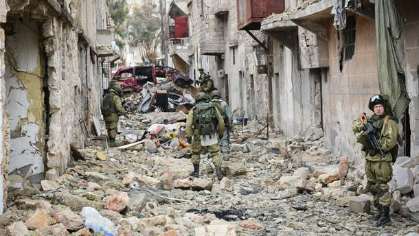 Російські солдати у Сирії