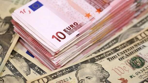 Курс євро і долара форекс фигура вымпел