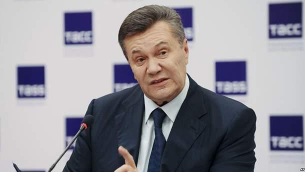 Виктор Янукович на своей пресс-конференцией в Москве поможет обвинению