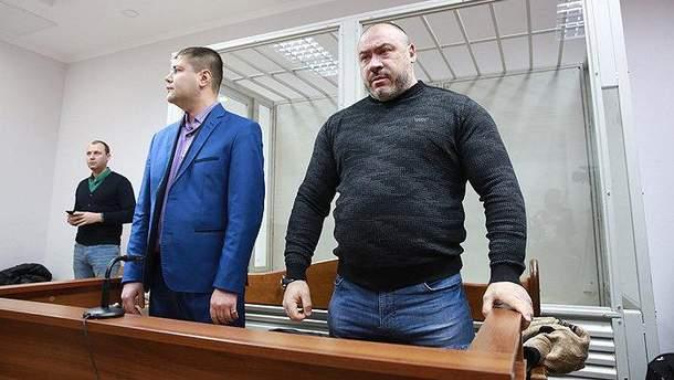 Юрій Крисін у залі суду