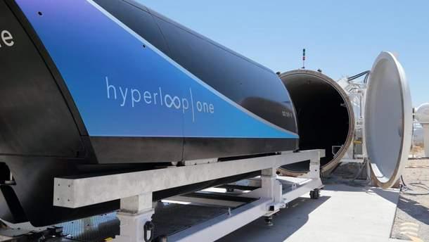 Пассажирскую капсулу Hyperloop впервые показали изнутри