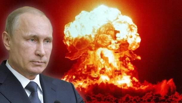 Путін загрожує Заходу новим ядерним озброєнням