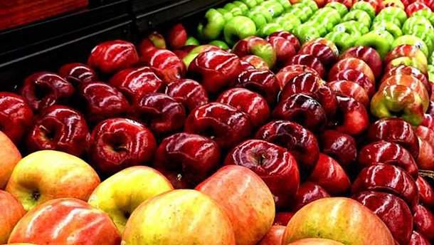 Як правильно вибирати яблука в супермаркеті